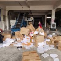 广州文件文档废纸快递单据销毁